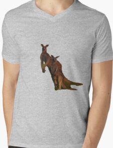 Kangaroos T Mens V-Neck T-Shirt