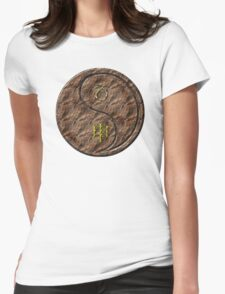 Capricorn & Monkey Yang Earth Womens Fitted T-Shirt