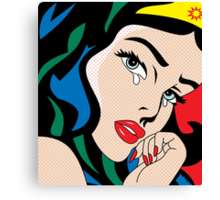 comics  Canvas Print
