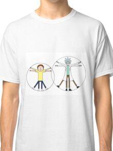 Rick and Morty da Vinci Classic T-Shirt