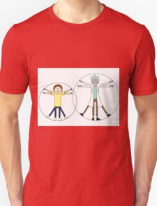 Rick and Morty da Vinci Unisex T-Shirt