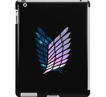 Wings of Space || Survey Corps logo iPad Case/Skin