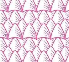 shards pink by Angie Douglas