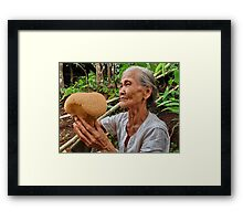 Maiden's breast fungus Framed Print