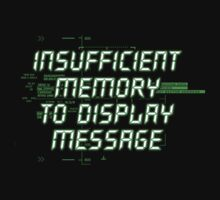 Insufficient Memory v2 by Vojin Stanic