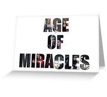 Age of Miracles - Wanda and Pietro Maximoff Greeting Card