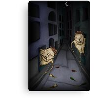 Monster Alley Canvas Print