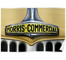 morris commercial Poster