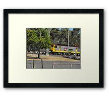 Modern Electric  Locomotive  Framed Print