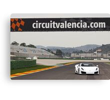 GTA Spano Canvas Print