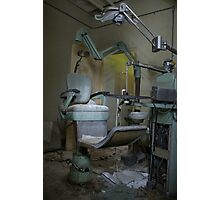 Dentists' chair Photographic Print