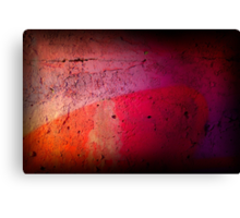 Paint Wall Texture Canvas Print