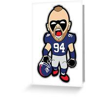 Big Blue Giants Herzlich Greeting Card