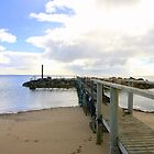 """Baudin Beach Jetty"" by Gail Mew"