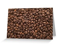 Beans of Coffee Greeting Card