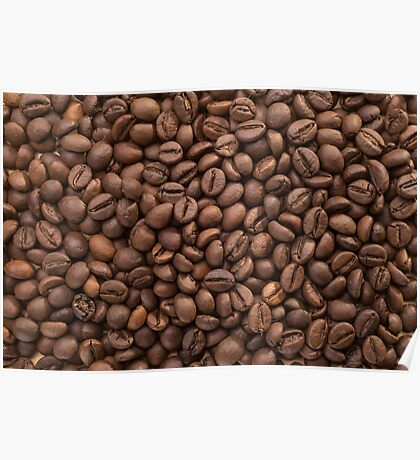 Beans of Coffee Poster