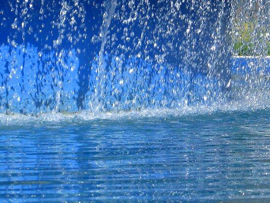 Cool Blue Rush by Sophia Flot-Warner