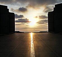 Vernal Equinox Sunset by Bob Wall