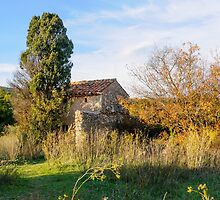 Old Little Stones House in Provence by MaxalTamor