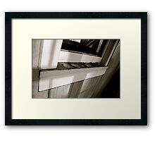 Sun Porch Window Framed Print