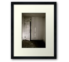 In the Closet Framed Print