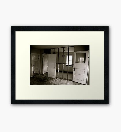Breath Out Framed Print