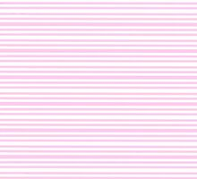 Vintage Girly Baby Pink White Stripes Pattern by Maria Fernandes