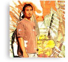 Tropical Ken Canvas Print