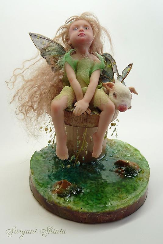 Green litlle fairy by Suryani Shinta
