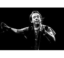 Eric Burdon live Photographic Print