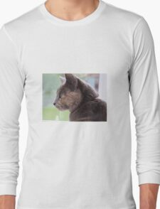 Tortoiseshell cat Long Sleeve T-Shirt