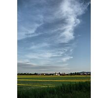 Tuscany Sky Photographic Print
