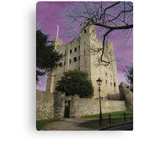 Rochester Castle, England Canvas Print