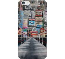 Kissing under an Asian city iPhone Case/Skin