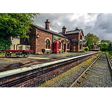 Hadlow Road Railway Station Photographic Print