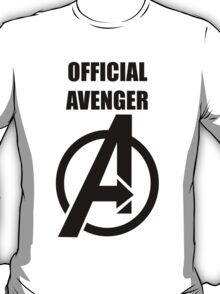 Official Avenger Print T-Shirt
