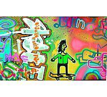 skate board art Photographic Print