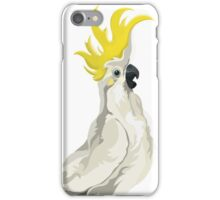 Sulphur Crested Cockatoo iPhone Case/Skin