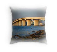 Sarasota Bridge  Throw Pillow