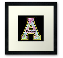 Appalachian State University Framed Print