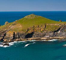 The Rumps Cornwall by David Wilkins