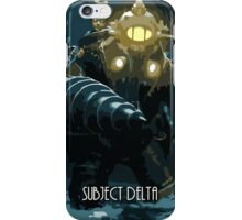 Subject Delta iPhone Case/Skin