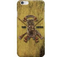 Fox with two broom iPhone Case/Skin