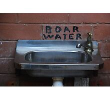 Boar's Water? Photographic Print