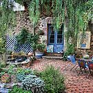 Lavande Courtyard by Barb Leopold
