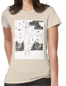 Lovely weather Womens Fitted T-Shirt
