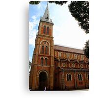 Notre Dame Cathedral - Ho Chi Minh city, Vietnam. Canvas Print