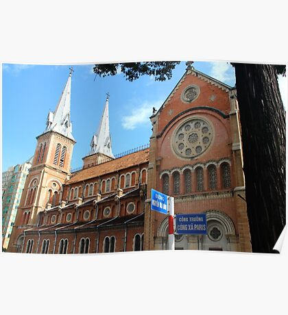 Notre Dame Cathedral II - Ho Chi Minh city, Vietnam. Poster