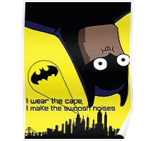 Derpy Batman  Poster