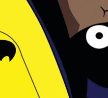 Derpy Batman  Sticker